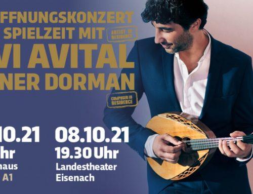 Eröffnungskonzert der Spielzeit mit Avi Avital und Avner Dorman